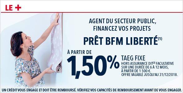 Pret Bancaire Bfm Liberte Pour La Fonction Publique Societe Generale