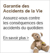 Assurance accidents de la vie