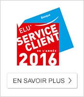 Service Client de l'Année 2016