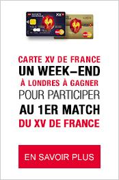 Jeu concours XV de France