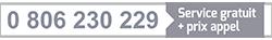 0 806 230 229 Service gratuit