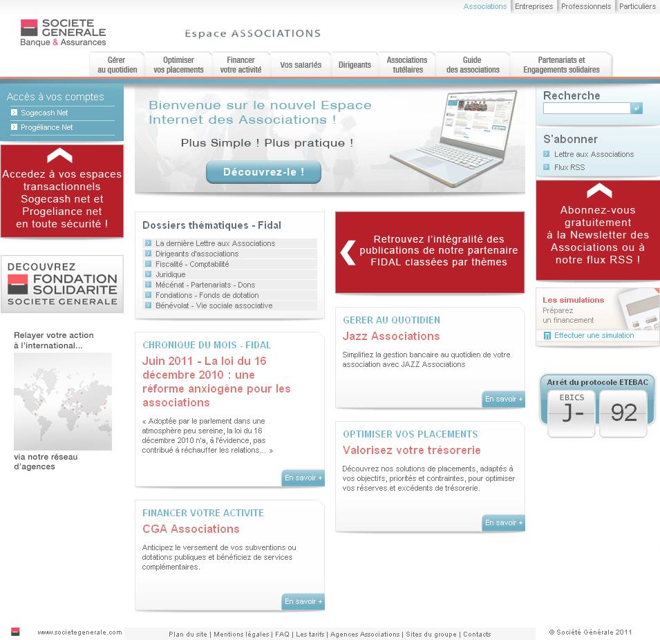 Page Presentation Societe Generale