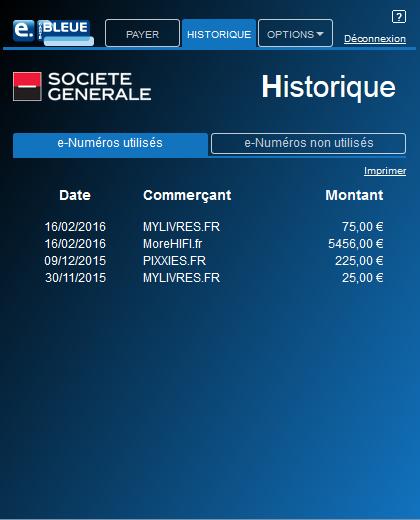 e carte bleu societe generale Aide   Société Générale