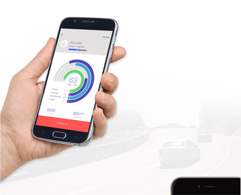 star drive by sogessur appli pour tester votre conduite. Black Bedroom Furniture Sets. Home Design Ideas
