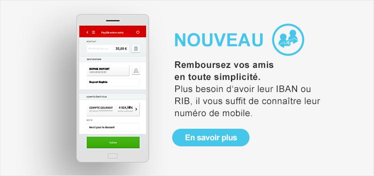 PAYLIB, La solution de paiement mobile simple, rapide et sécurisée imaginée par ma banque.