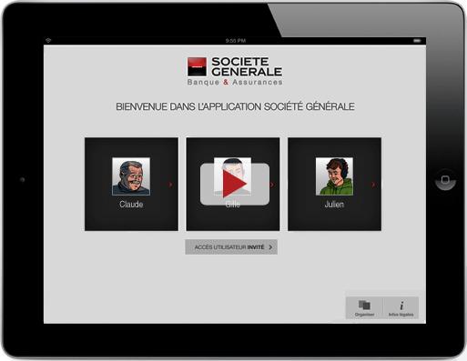 Vidéo appli iPad