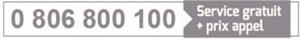 0 806 800 110 - Service Gratuit + Prix Appel