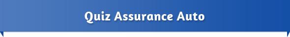 Le Quiz Assurance Auto