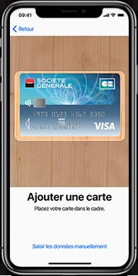 Comment ajouter une carte bancaire dans Apple Pay