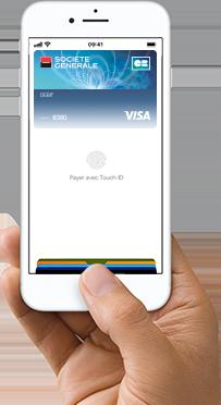 Comment payer avec une carte bancaire avec Apple Pay
