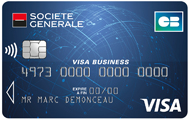 Carte CB Visa Business