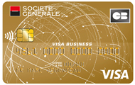 Carte CB Visa Gold Business