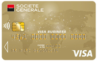 Carte CB Visa Gold Business class